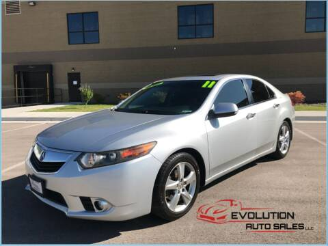 2011 Acura TSX for sale at Evolution Auto Sales LLC in Springville UT