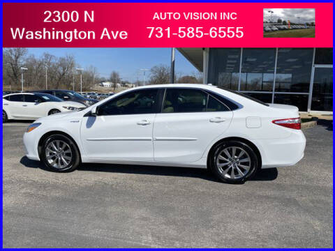 2017 Toyota Camry Hybrid for sale at Auto Vision Inc. in Brownsville TN