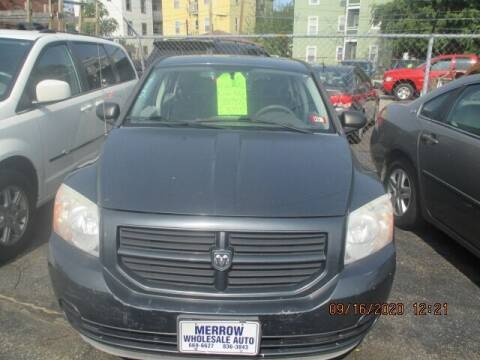 2007 Dodge Caliber for sale at MERROW WHOLESALE AUTO in Manchester NH