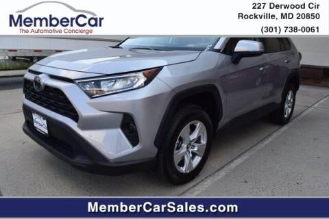 2020 Toyota RAV4 for sale at MemberCar in Rockville MD