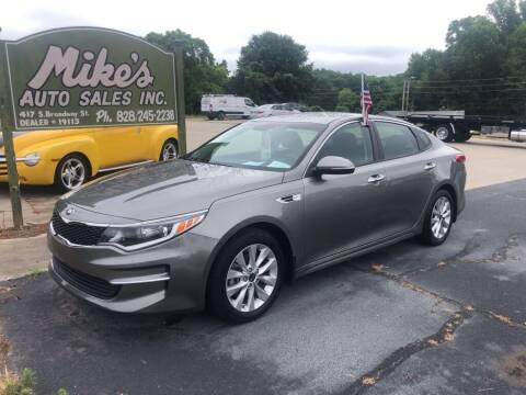 2018 Kia Optima for sale at Mikes Auto Sales INC in Forest City NC