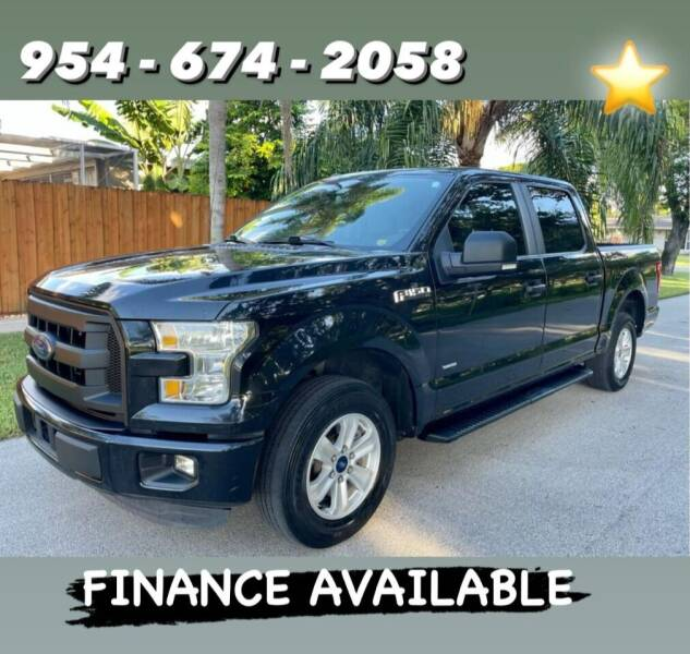 2015 Ford F-150 for sale at Venmotors Hollywood in Hollywood FL