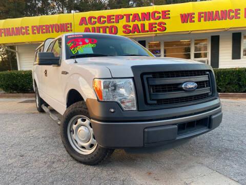 2014 Ford F-150 for sale at Acceptance Auto Sales in Marietta GA