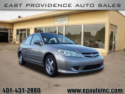 2004 Honda Civic for sale at East Providence Auto Sales in East Providence RI