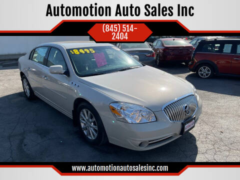 2011 Buick Lucerne for sale at Automotion Auto Sales Inc in Kingston NY