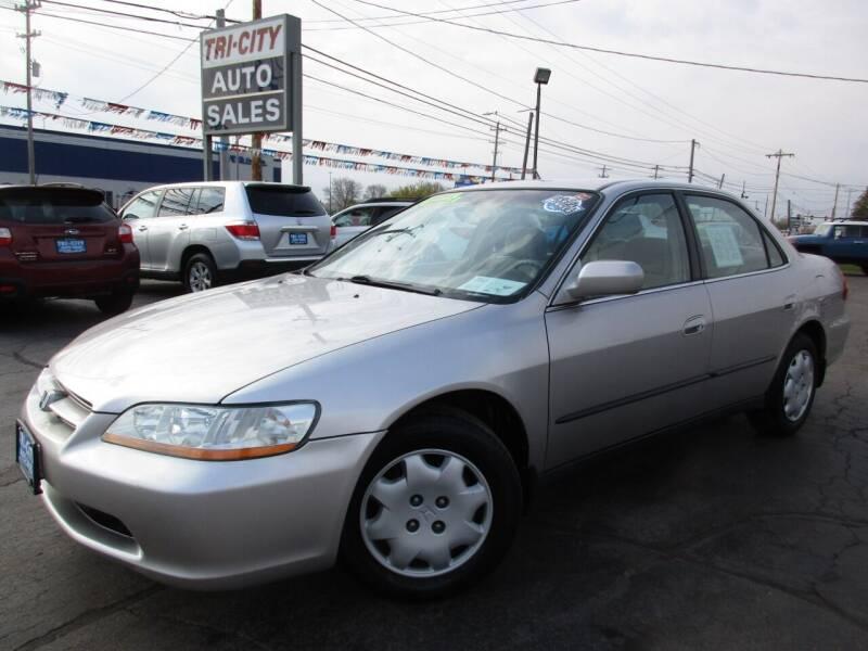 1998 Honda Accord for sale at TRI CITY AUTO SALES LLC in Menasha WI