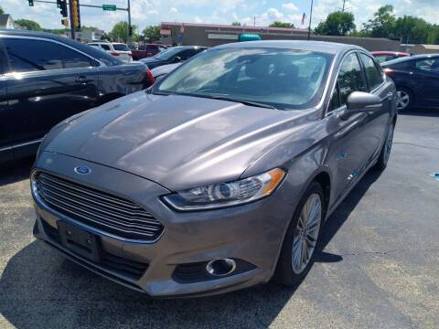 2013 Ford Fusion for sale at Smart Buy Auto in Bradley IL