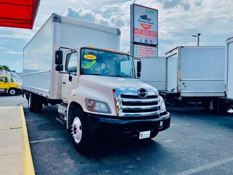 2014 Hino 268A for sale at Orange Truck Sales in Orlando FL