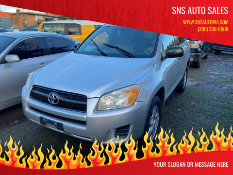 2009 Toyota RAV4 for sale at SNS AUTO SALES in Seattle WA