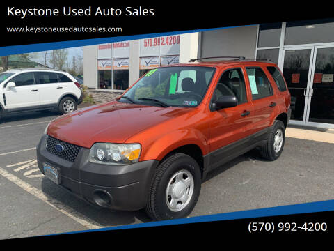 2007 Ford Escape for sale at Keystone Used Auto Sales in Brodheadsville PA