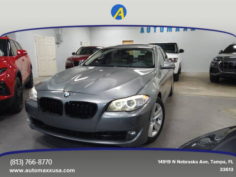 2013 BMW 5 Series for sale at Automaxx in Tampa FL