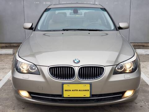 2008 BMW 5 Series for sale at Delta Auto Alliance in Houston TX