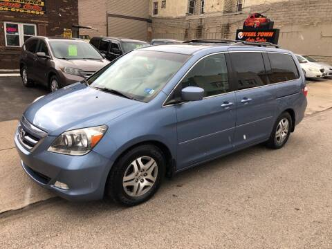 2007 Honda Odyssey for sale at STEEL TOWN PRE OWNED AUTO SALES in Weirton WV
