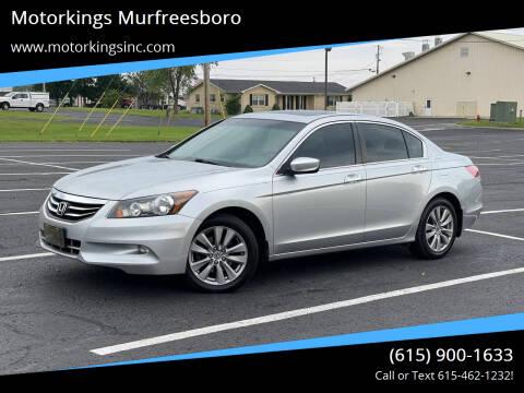 2012 Honda Accord for sale at Motorkings Murfreesboro in Murfreesboro TN