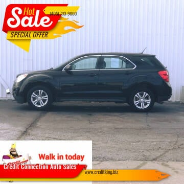 2013 Chevrolet Equinox for sale at Credit Connection Auto Sales in Midwest City OK