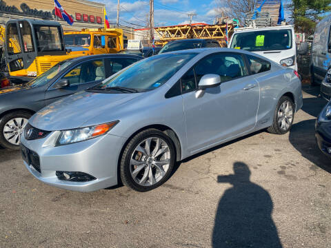 2012 Honda Civic for sale at White River Auto Sales in New Rochelle NY