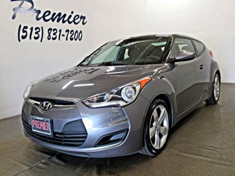 2015 Hyundai Veloster for sale at Premier Automotive Group in Milford OH