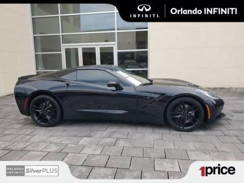 2017 Chevrolet Corvette for sale at Orlando Infiniti in Orlando FL