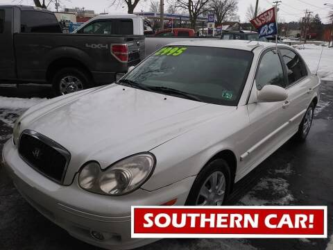 2003 Hyundai Sonata for sale at Oak Hill Auto Sales of Wooster, LLC in Wooster OH