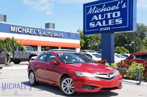 2017 Acura ILX for sale at Michael's Auto Sales Corp in Hollywood FL