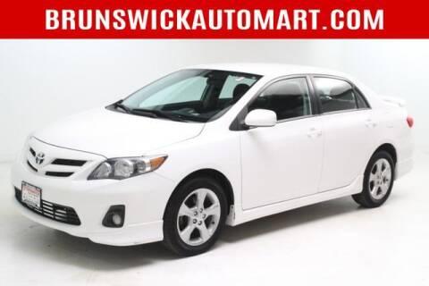 2013 Toyota Corolla for sale at Brunswick Auto Mart in Brunswick OH