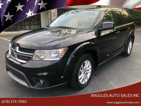 2013 Dodge Journey for sale at WIGGLES AUTO SALES INC in Mableton GA