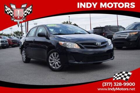 2012 Toyota Corolla for sale at Indy Motors Inc in Indianapolis IN
