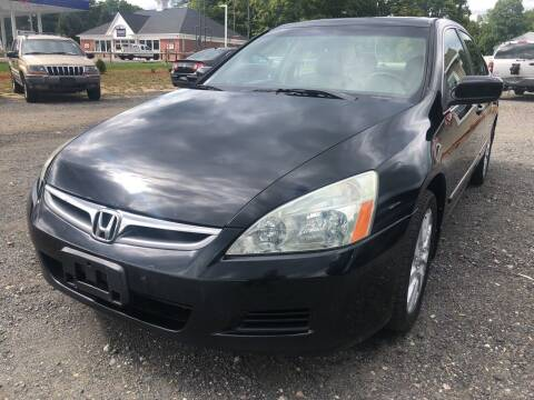 2006 Honda Accord for sale at AUTO OUTLET in Taunton MA