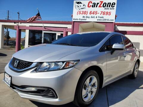 2014 Honda Civic for sale at CarZone in Marysville CA