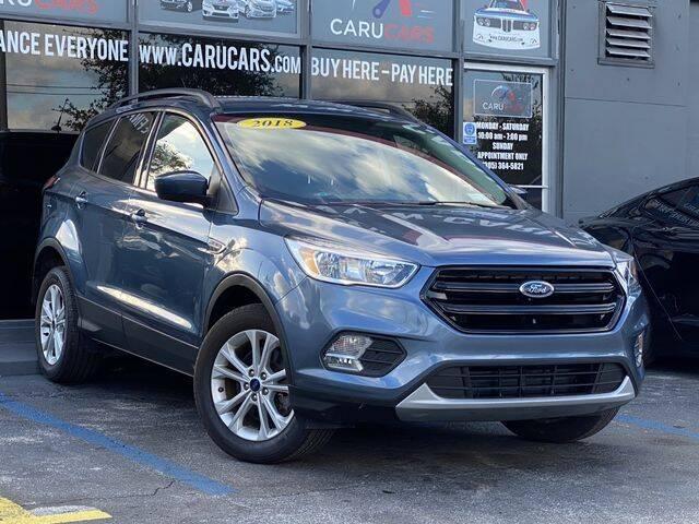 2018 Ford Escape for sale at CARUCARS LLC in Miami FL