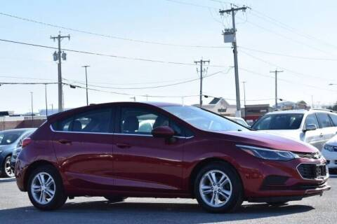 2017 Chevrolet Cruze for sale at Broadway Motor Car Inc. in Rensselaer NY