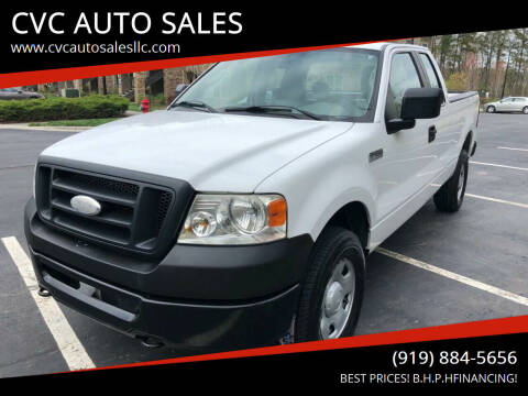 2007 Ford F-150 for sale at CVC AUTO SALES in Durham NC