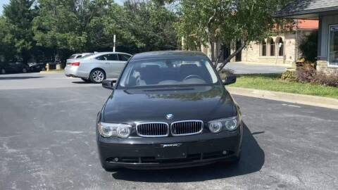 2002 BMW 7 Series for sale at Cj king of car loans/JJ's Best Auto Sales in Troy MI