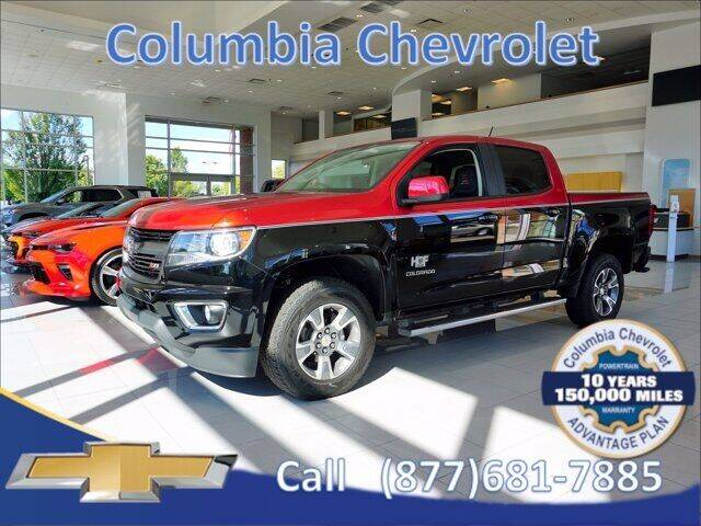 2015 Chevrolet Colorado for sale at COLUMBIA CHEVROLET in Cincinnati OH
