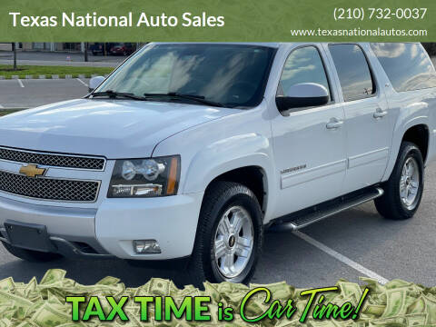 2012 Chevrolet Suburban for sale at Texas National Auto Sales in San Antonio TX