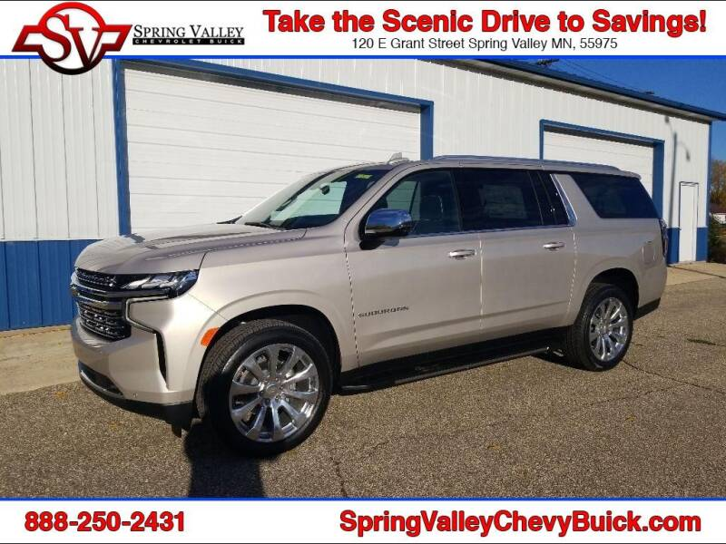 2021 Chevrolet Suburban for sale at Spring Valley Chevrolet Buick in Spring Valley MN