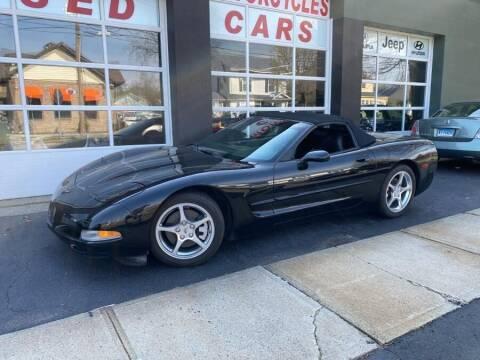 1999 Chevrolet Corvette for sale at Village Auto Sales in Milford CT