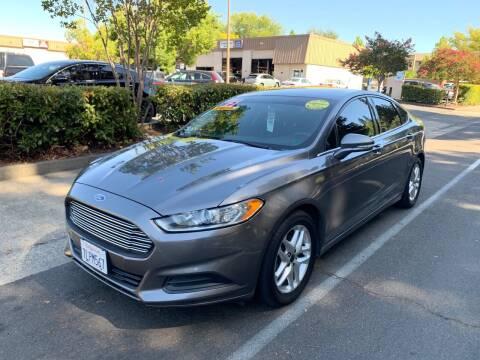 2013 Ford Fusion for sale at LG Auto Sales in Rancho Cordova CA