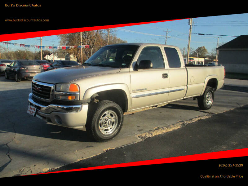 2005 GMC Sierra 2500HD for sale at Burt's Discount Autos in Pacific MO