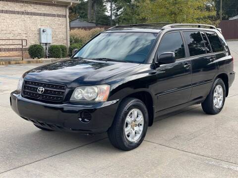2003 Toyota Highlander for sale at Two Brothers Auto Sales in Loganville GA
