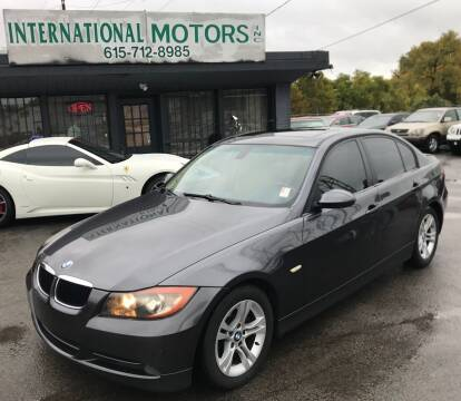 2008 BMW 3 Series for sale at International Motors Inc. in Nashville TN
