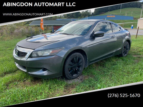 2008 Honda Accord for sale at ABINGDON AUTOMART LLC in Abingdon VA