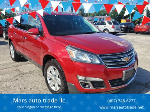 2013 Chevrolet Traverse for sale at Mars auto trade llc in Kissimmee FL