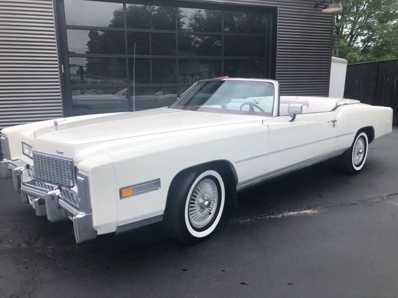 1976 Cadillac El Dorado Convertible for sale at CRUMP'S AUTO & TRAILER SALES in Crystal City MO