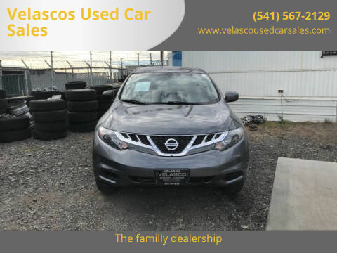 2014 Nissan Murano for sale at Velascos Used Car Sales in Hermiston OR