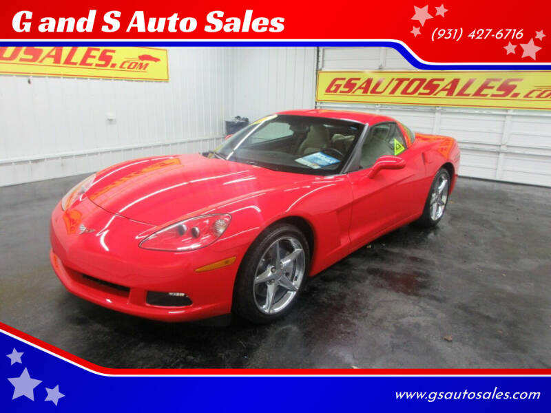 2011 Chevrolet Corvette for sale at G and S Auto Sales in Ardmore TN