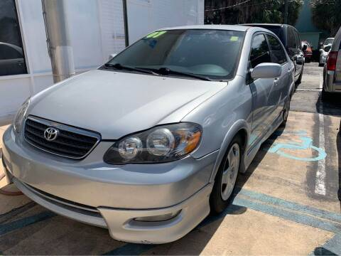 2007 Toyota Corolla for sale at ROCKLEDGE in Rockledge FL