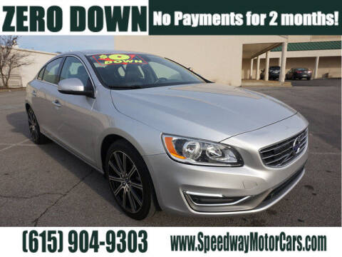 2018 Volvo S60 for sale at Speedway Motors in Murfreesboro TN