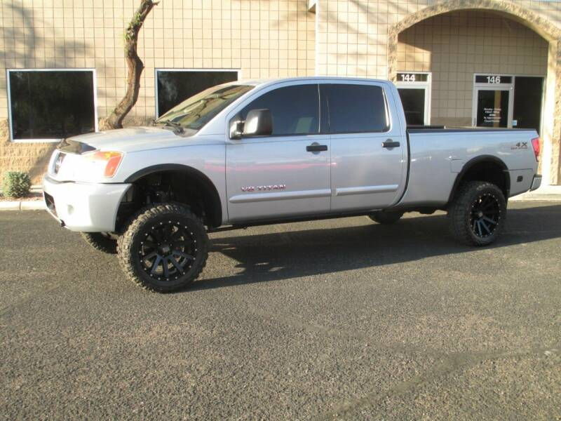 2008 Nissan Titan for sale at COPPER STATE MOTORSPORTS in Phoenix AZ