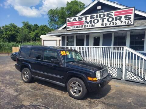 2007 Jeep Commander for sale at EASTSIDE MOTORS in Tulsa OK
